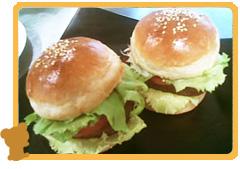 「ハンバーガー」