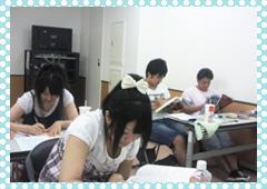 必死で勉強中です
