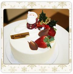 1ホール作るクリスマスケーキ