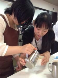 武井先生コーヒー