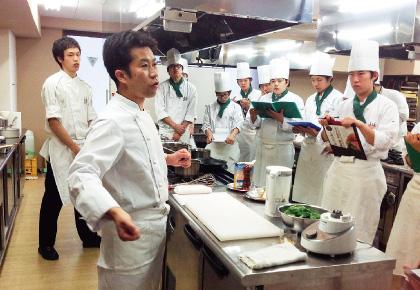 埼玉ベルエポック製菓調理専門学校画像
